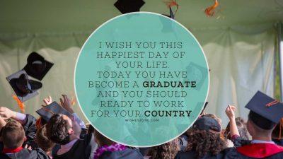 congrats to graduates