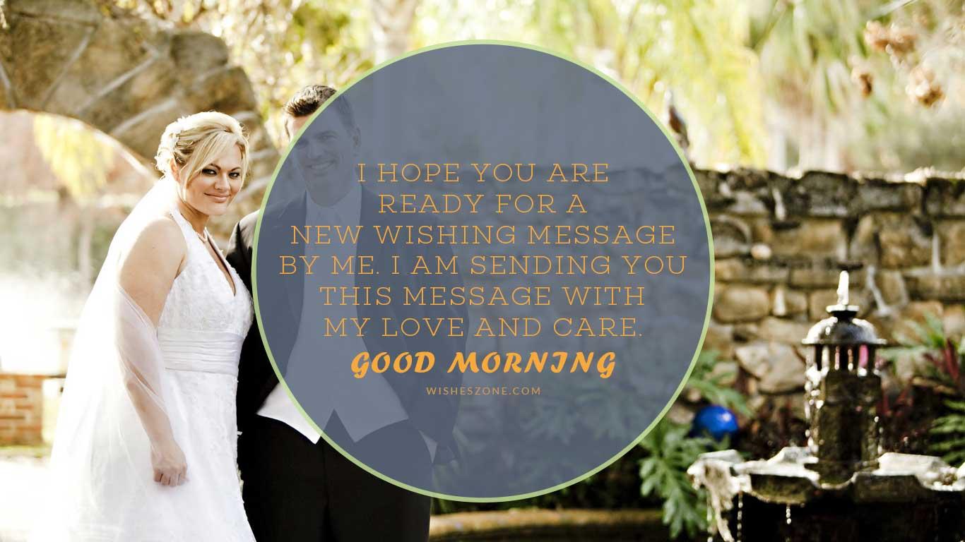 good morning caring husband