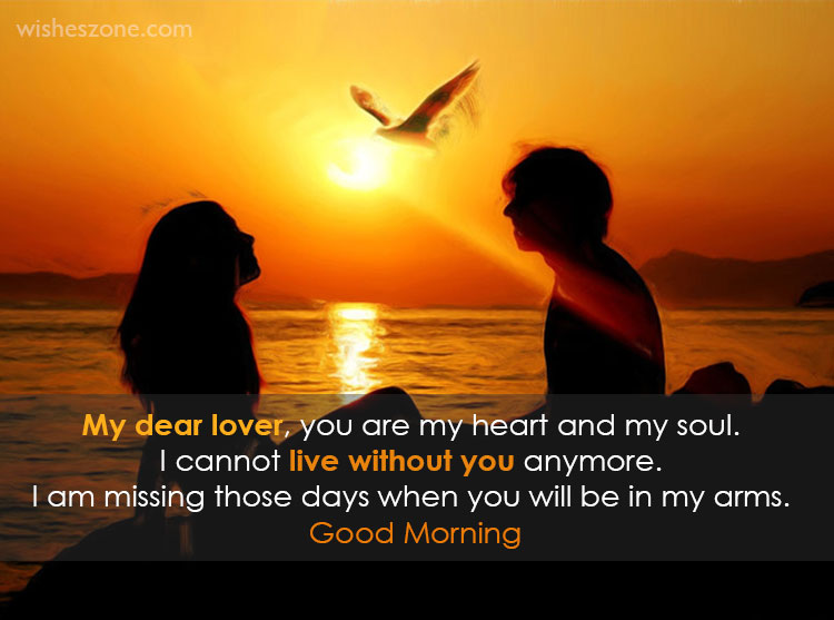 Morning message for lover