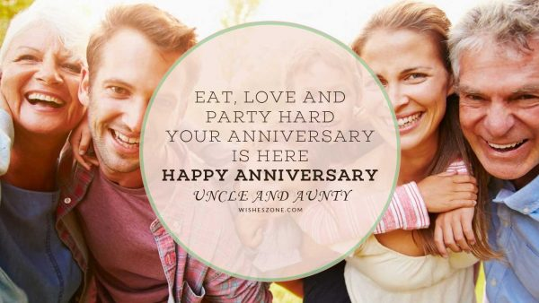uncle aunty anniversary wishes