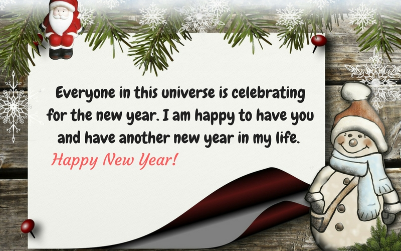 special new year wishes