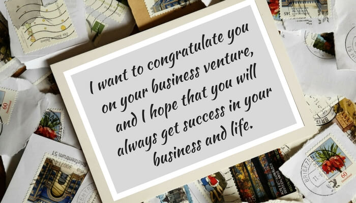 Good Luck Messages for starting a new business