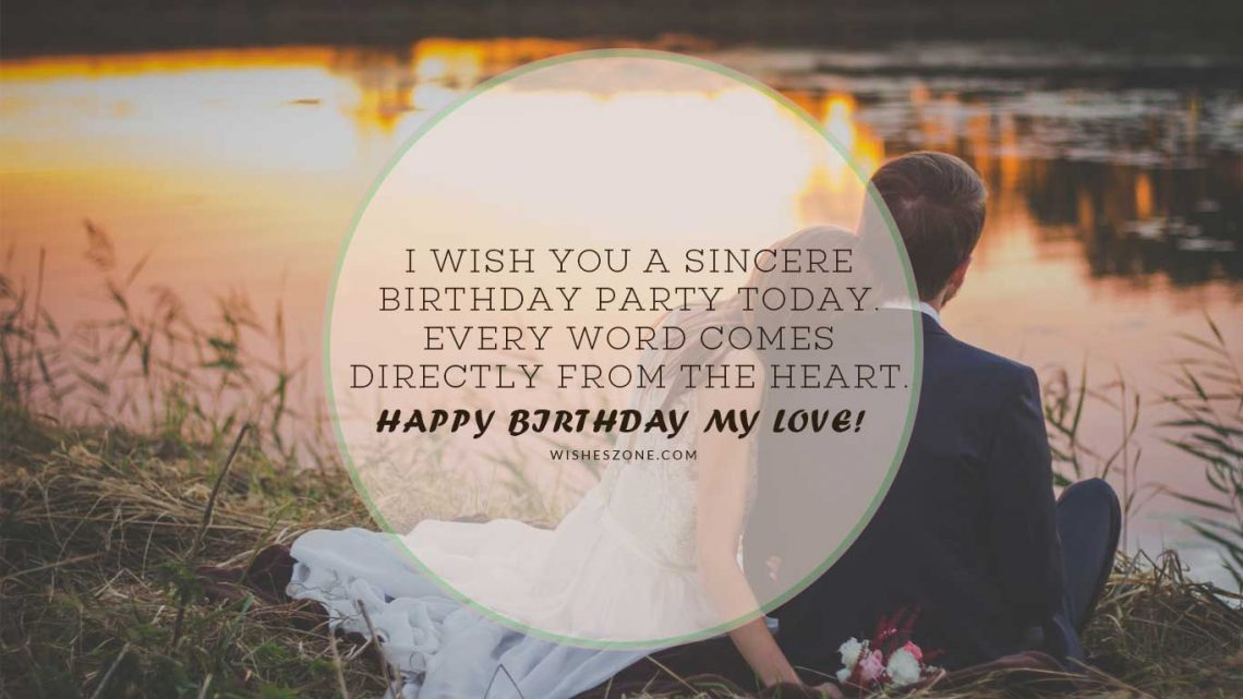 Happy Birthday Wishes For Husband Birthday Quotes For Husband