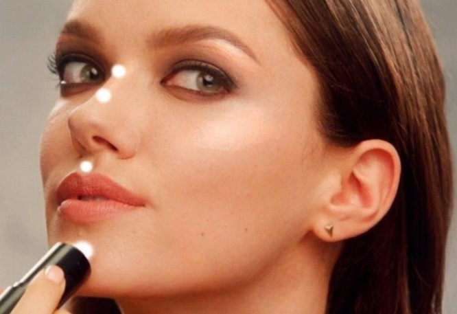 how to apply highlighter