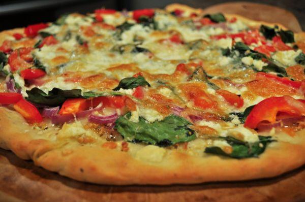 Nigerian pizza